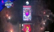 Màn đếm ngược đón năm mới trên Quảng trường Thời Đại