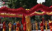 Hà Nội mở hội múa Rồng bên hồ Gươm
