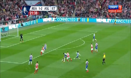 Reading 1-2 Arsenal