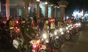 Hàng trăm cảnh sát ngăn chặn đua xe ở Sài Gòn