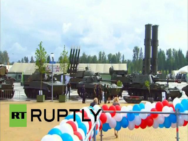 Loạt vũ khí tối tân Nga khoe trong triển lãm quân sự ở Moscow
