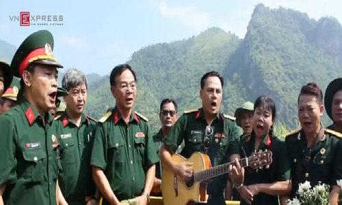 Tiếng hát gọi đồng đội của người lính Vị Xuyên