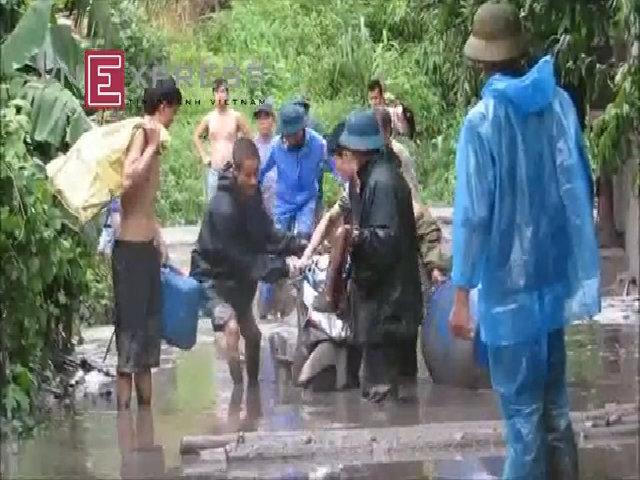 Gần 100 hộ dân Mông Dương trắng tay vì đập xỉ than vỡ, vùi lấp