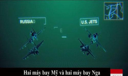 Vụ chạm trán máy bay Nga - Mỹ ở Syria