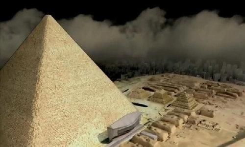 Khám phá bí mật kim tự tháp Ai Cập bằng tia vũ trụ