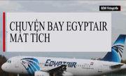 Phi cơ chở khách Ai Cập biến mất như thế nào