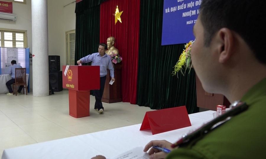 Gần 3.000 can phạm bỏ phiếu ở trại tạm giam Hà Nội