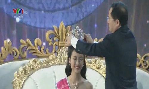 14 Hoa hau Viet Nam khoe sac voc voi vay xuyen thau