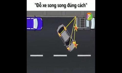 Đỗ xe song song đúng cách