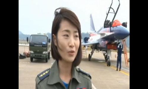 Chân dung nữ phi công lái chiến đấu cơ Trung Quốc tử nạn