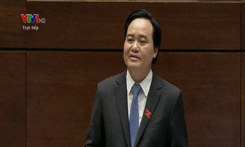 Bộ trưởng Bộ Giáo dục & Đào tạo trả lời chất vấn về đề án ngoại ngữ