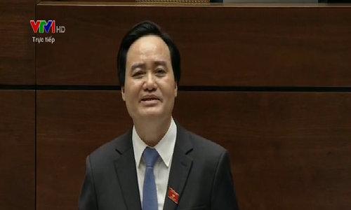 Bộ trưởng Giáo dục nhận trách nhiệm vụ điều giáo viên đi tiếp khách