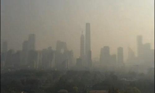 Bắc Kinh ô nhiễm