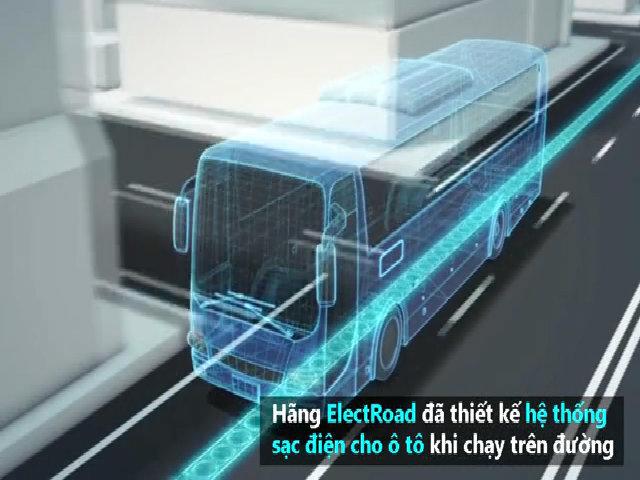 Israel thử nghiệm đường sạc không dây cho xe điện