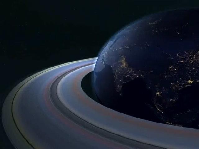 Điều gì xảy ra nếu Trái Đất có vành đai như sao Thổ?