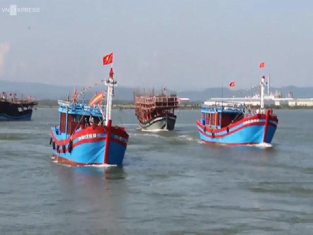 Ngư dân Quảng Nam mở biển Hoàng Sa