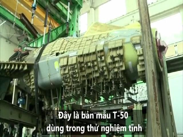 Trung tâm thử nghiệm siêu tiêm kích tàng hình T-50 của Nga