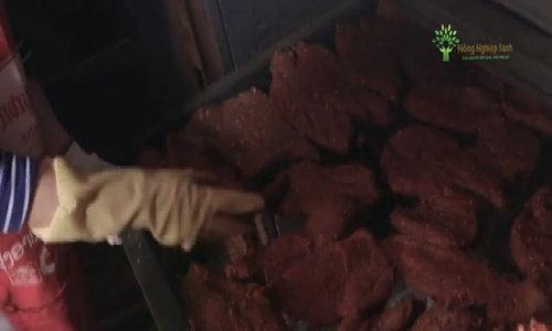 Đặc sản thịt sấy khô Điện Biên được chế biến như thế nào