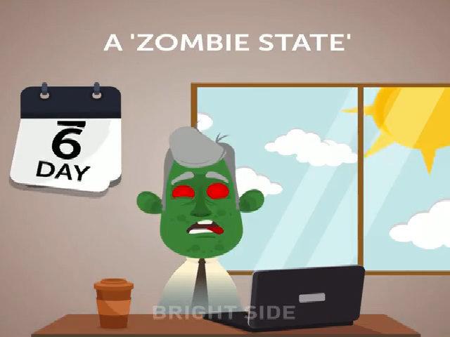 Trạng thái 'zombie' sau 7 ngày không ngủ liên tục
