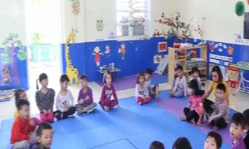 Nhà vệ sinh nơi được cho là bé 4 tuổi bị cô giáo nhốt
