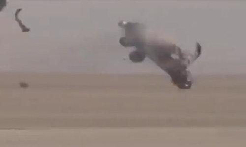Tay đua sống sót thần kỳ khi ôtô bị vò nát ở tốc độ 320 km/h