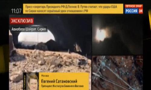 Nga điều tàu chiến đến gần tàu Mỹ từng phóng tên lửa vào Syria - Video embed - VnExpress