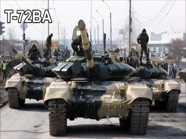 Xe tăng T-72BA của quân đội Nga