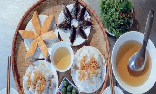 Bánh cuốn Thanh Trì trứ danh của người Hà Nội