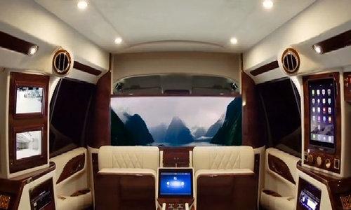 Cadillac Escalade Sky Captain Edition - nội thất thương gia