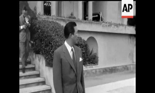 Vua Bảo Đại tại Cannes năm 1955