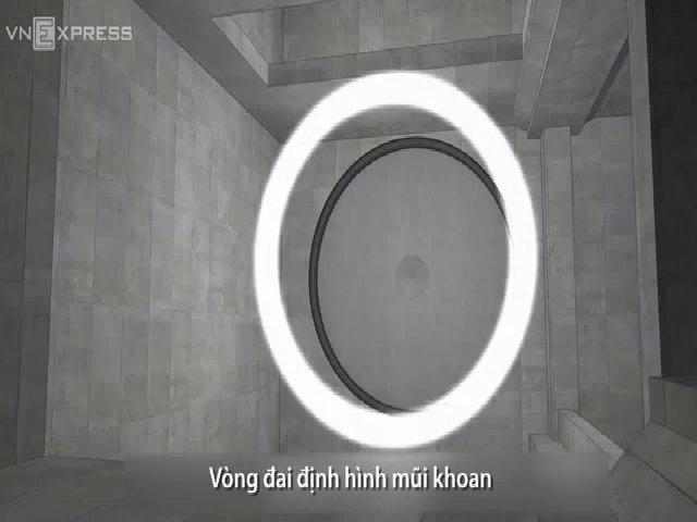 Robot đào hầm ở Sài Gòn được lắp ráp như thế nào?
