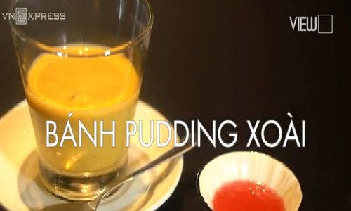 Pudding xoài