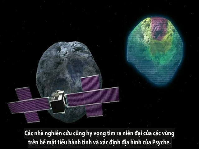 NASA thám hiểm tiểu hành tinh giàu kim loại