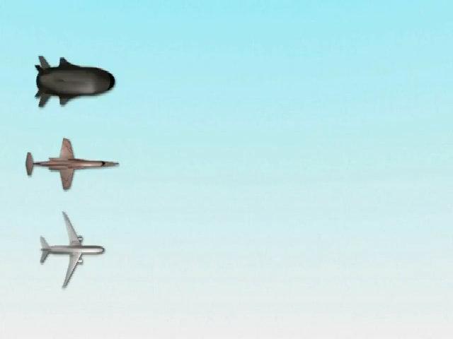 Máy bay nhanh gấp 5 lần tốc độ âm thanh