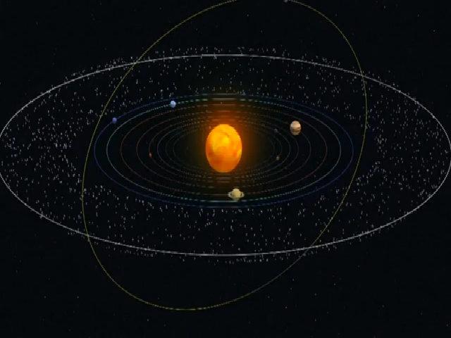 Vật thể quay lệch nghi hành tinh thứ 10 thuộc hệ Mặt Trời