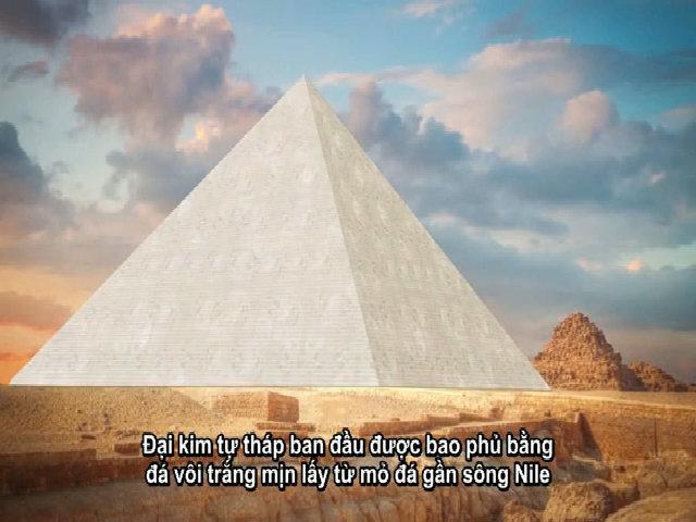 Quá trình xây dựng Đại kim tự tháp Ai Cập