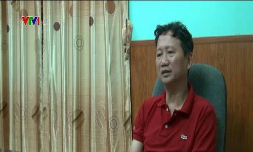 Ông Trịnh Xuân Thanh phát biểu tại cơ quan công an