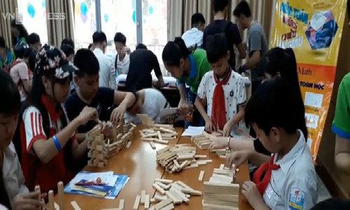 Học sinh, sinh viên trải nghiệm Toán học qua trò chơi