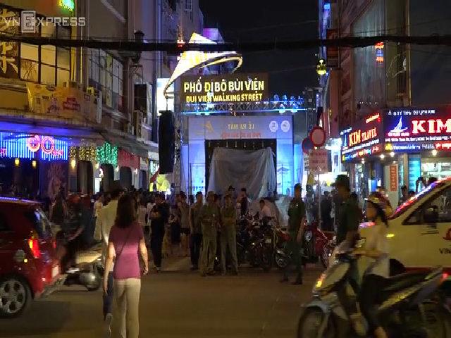 Phố đi bộ Bùi Viện chính thức ra mắt người dân Sài Gòn