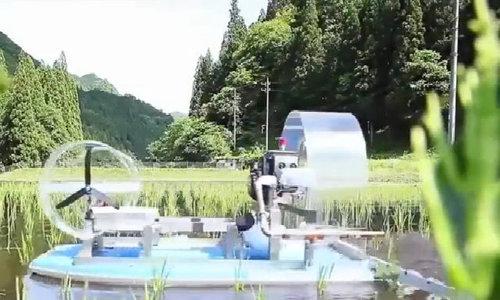 Máy cấy lúa, làm cỏ, phun thuốc sâu kiểu Nhật Bản