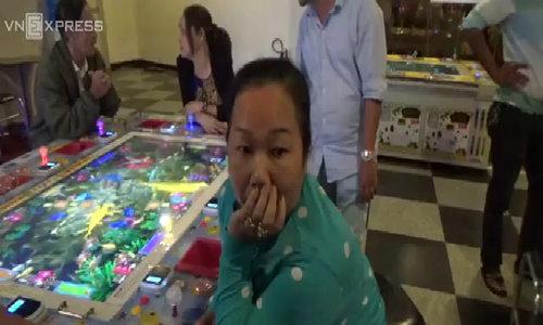 Bắt ổ cờ bạc trá hình trò chơi điện tử ở trung tâm thương mại