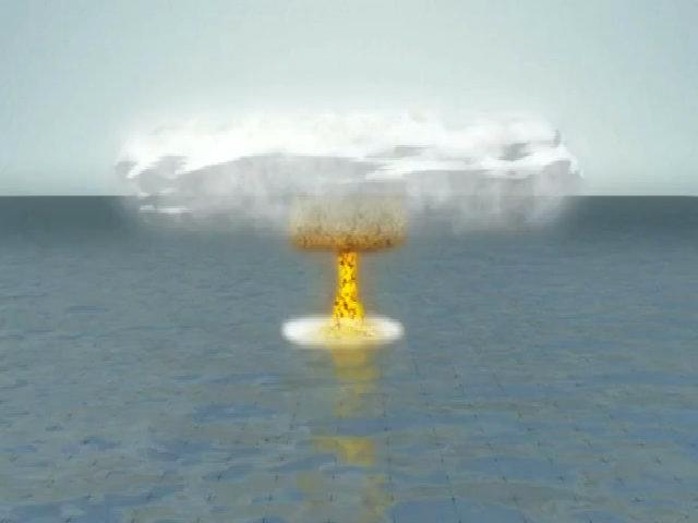 Thảm họa môi trường khi nổ bom nhiệt hạch ở Thái Bình Dương