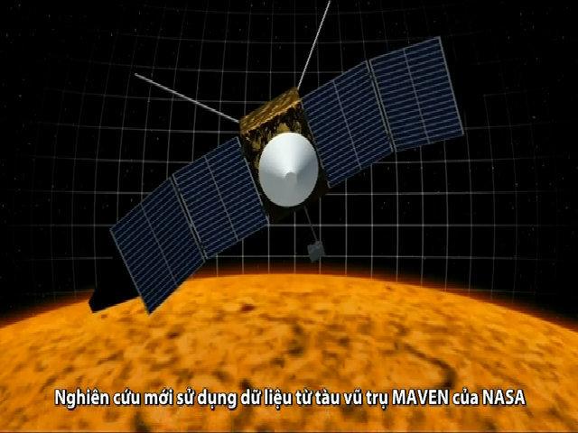 Thủ phạm giúp gió Mặt Trời thổi bay khí quyển sao Hỏa