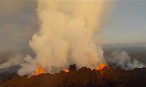 Núi lửa lớn nhất Iceland sắp phun trào
