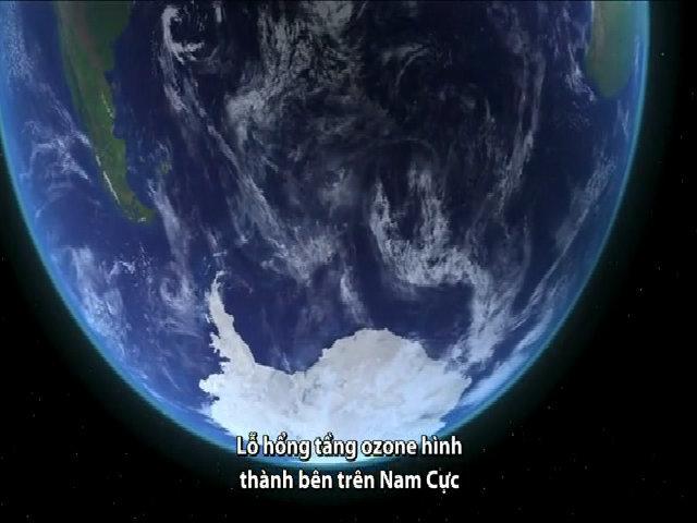 Lỗ hổng tầng ozone ở Nam Cực ở mức nhỏ nhất