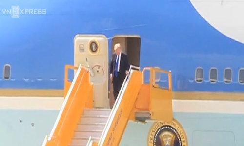 Tổng thống Mỹ đến sân bay Đà Nẵng