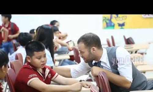 Giáo viên ngoại quốc dưới góc nhìn của học trò