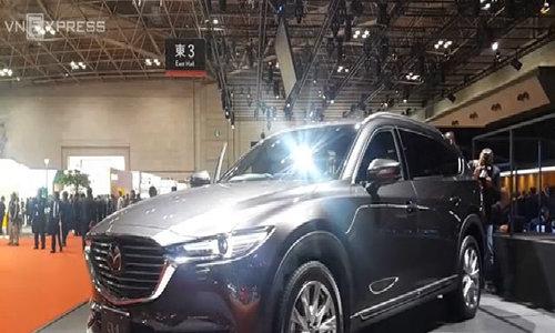 SUV ba hàng ghế mới của Mazda bán ra thị trường Nhật Bản