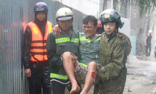 Những thiệt hại sau bão Damrey