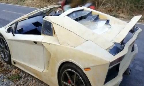 Thợ Thái Lan tự chế siêu xe Lamborghini